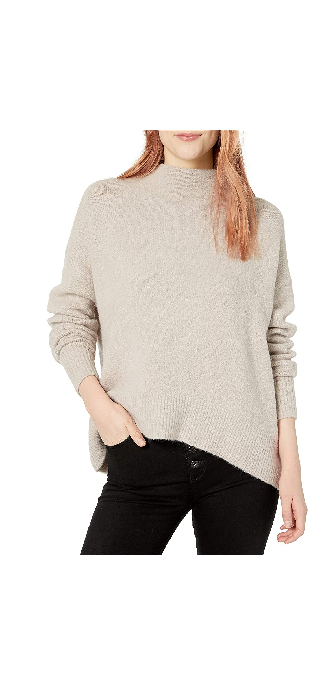 Women's Mock Neck Cozy Sweater