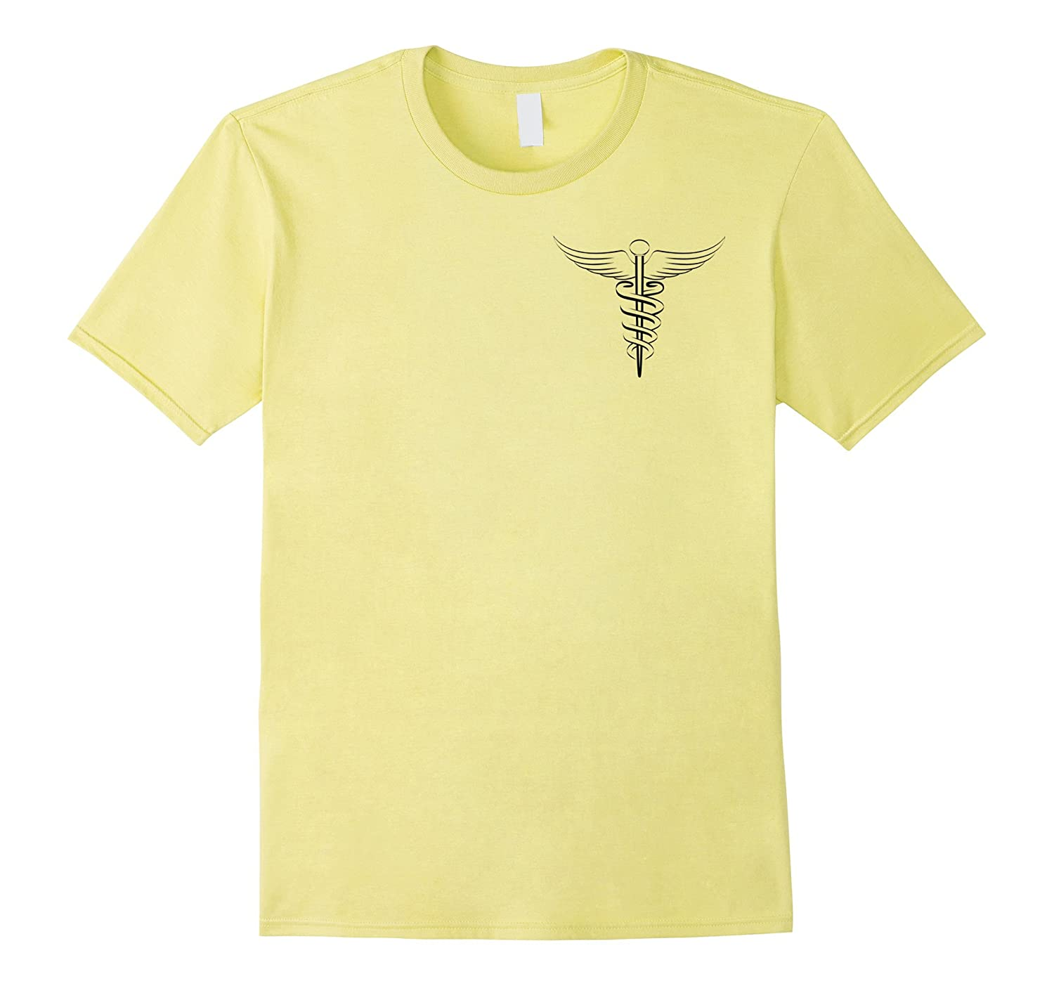 Registered Nurse Caduceus Symbol Logo Nursing T Shirt Th Teehelen