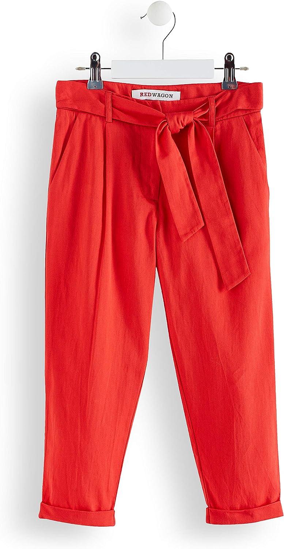 Marca RED WAGON Pantalones con Lazada para Ni/ñas