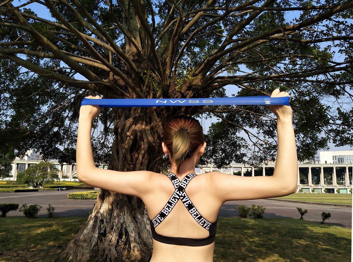 Bandas Ejercicio,Bandas Elásticas||Cintas Elasticas||Bandas de Resistencia para Piernas, Bandas Elasticas Fitness para Yoga, Pilates, Crossfit, Gym, Musculacion, Fisioterapia, Rehabilitacion