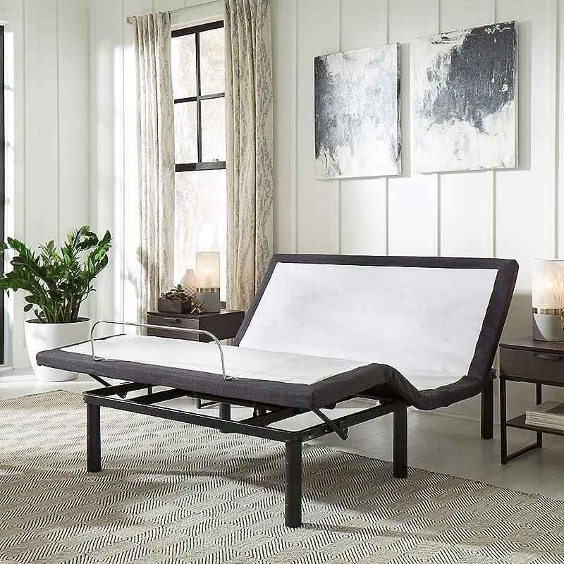 Full Size Adjustable Bed Frame with Massage