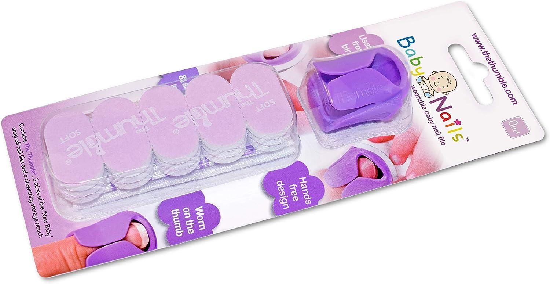 Lima de uñas para recien nacidos (0 meses +) I Cuidado de uñas bebé I Accesorio para recien nacidos y bebés I Regalo para mamás - 3x5