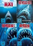 DER WEISSE HAI Complete Collection 1 2 3 4 - JAWS QUADRILOGY