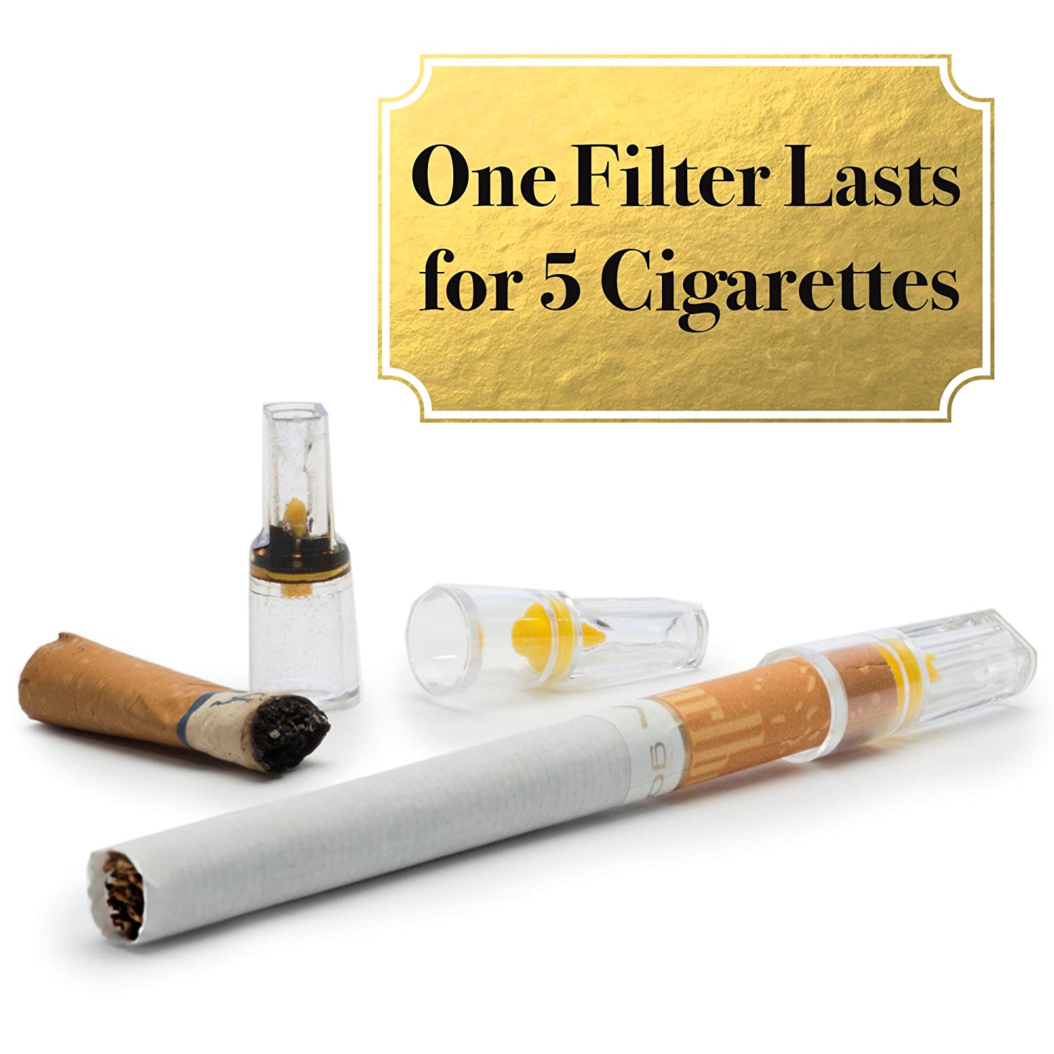 What do cigarette filters do