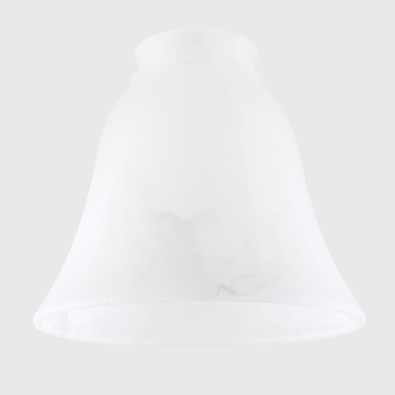 Set di 3 Paralume stupendo e moderno di ricambio fatto di vetro satinato bianco