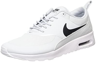 huge discount 709eb c6ef1 Nike Air Max Thea 599409 Damen Laufschuhe, Elfenbein (Pure  Platinum black white