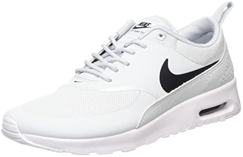 huge discount 4e8ac 9dac4 Nike Air Max Thea 599409 Damen Laufschuhe, Elfenbein (Pure  Platinum black white