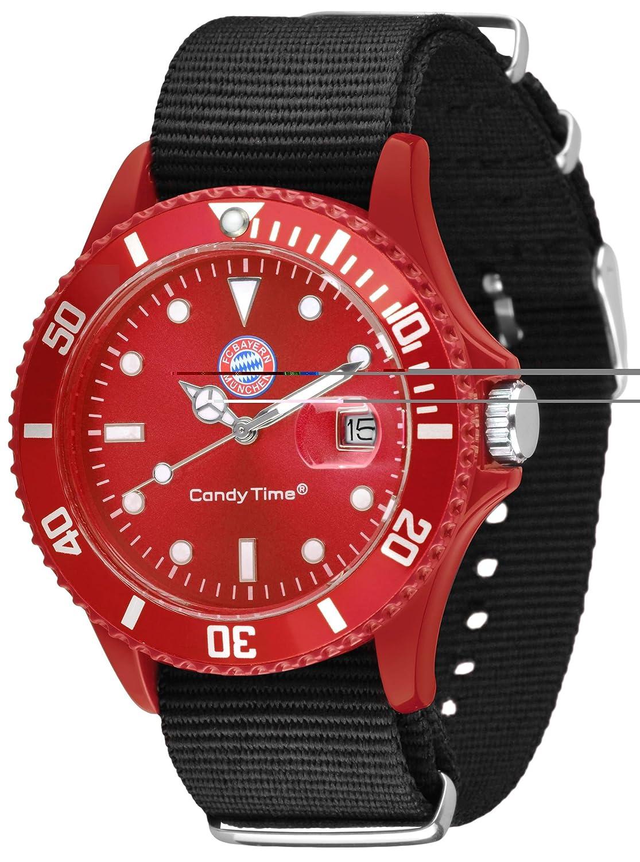 Original Bayern München Uhr * NEU * Candy Time by Madison -Sailor- U4736-38/1