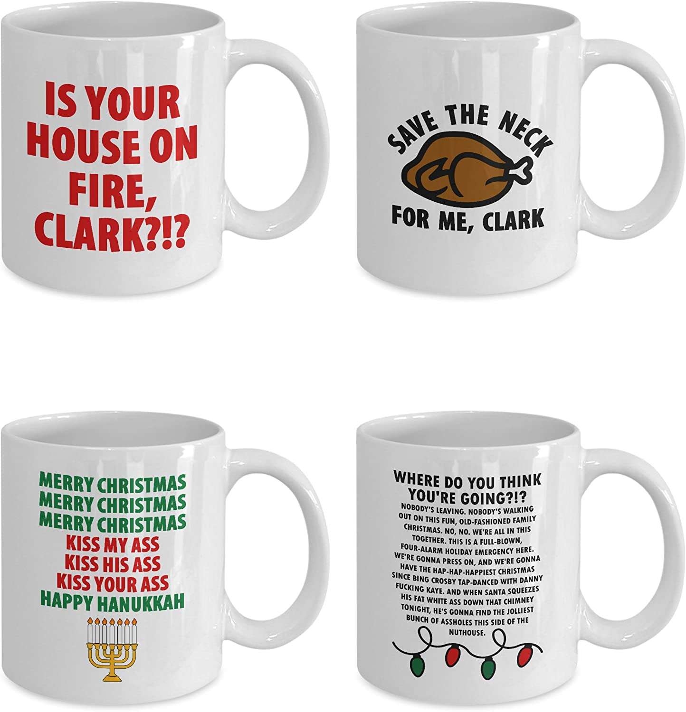 Mugs Handmade Products 11 Oz Premium Quality Printed Coffee Mug Hanukkah Pugs With Menorah Classic Mug Mug Coffee Mug Tea Mug Unique Gifting Ideas For Friend Coworker Loved Ones