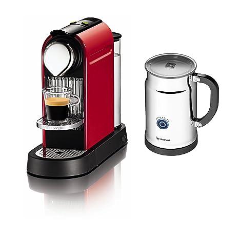 Amazon.com: Citiz Cafetera de espresso con Aeroccino Plus ...