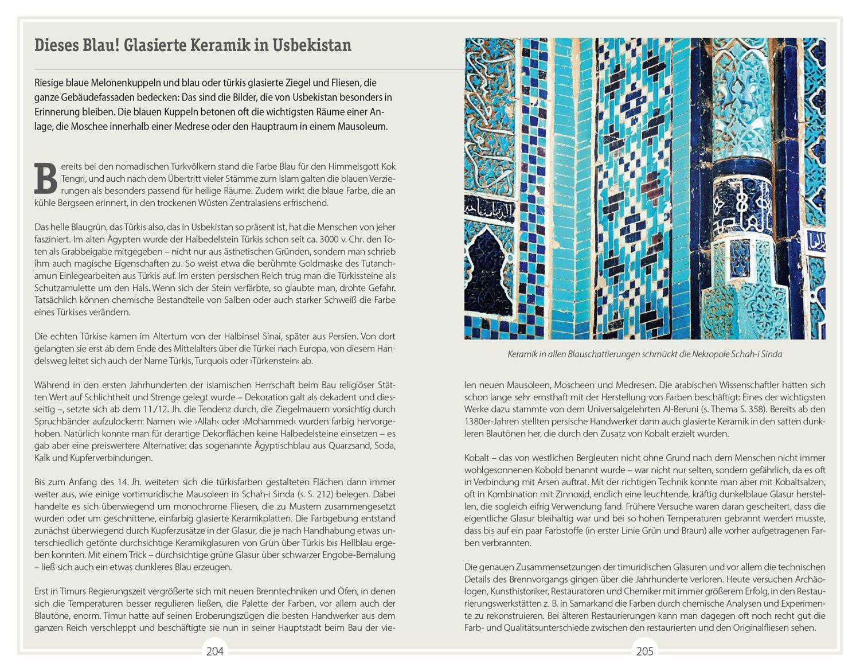 DuMont ReiseHandbuch Reiseführer Usbekistan Amazon - Qualitätsunterschiede fliesen