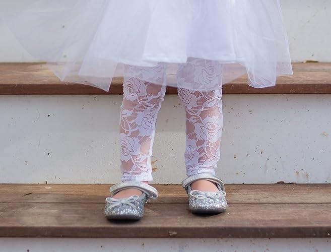 96924ac53ae Amazon.com  Girls Lace Leggings