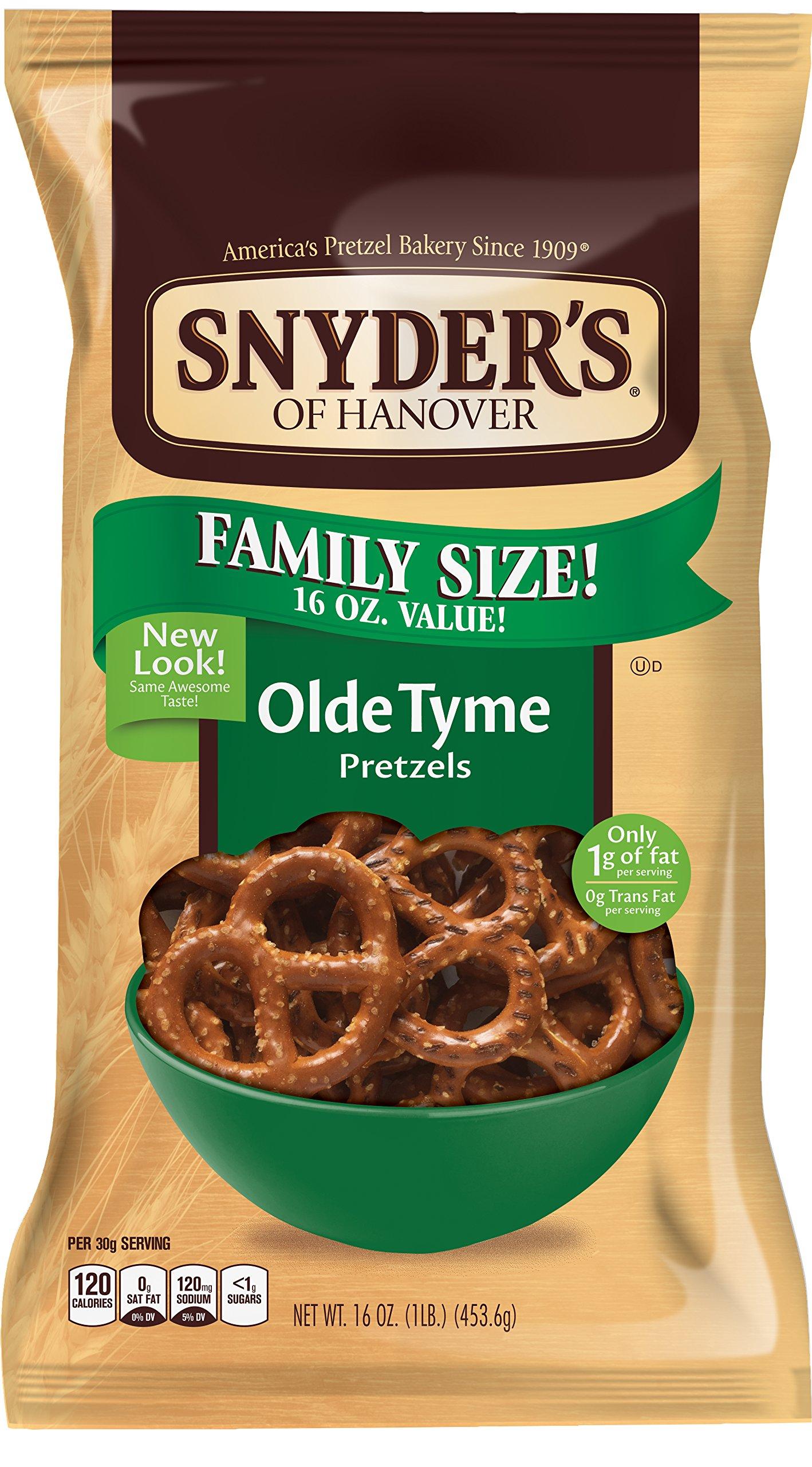Snyder's of Hanover Olde Tyme Pretzel, 16 oz