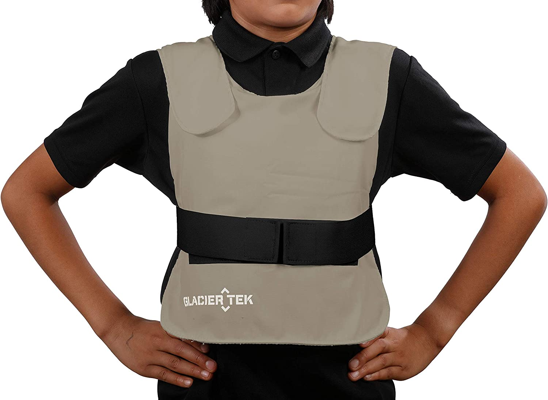Glacier Tek Children's Cool Vest with Nontoxic Cooling Packs