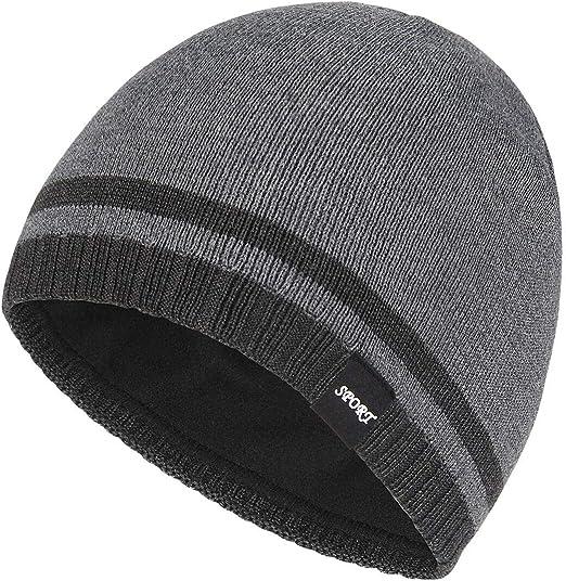 Hat Winter Cap Beanie Knit Ski Solid Plain Women Skull Warm Slouchy Handmade Cuf