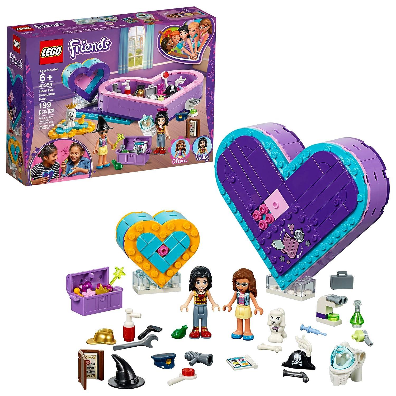 04a7f4b9e143d LEGO Friends Heart Box Friendship Pack 41359 Building Kit , New 2019 (199  Piece)