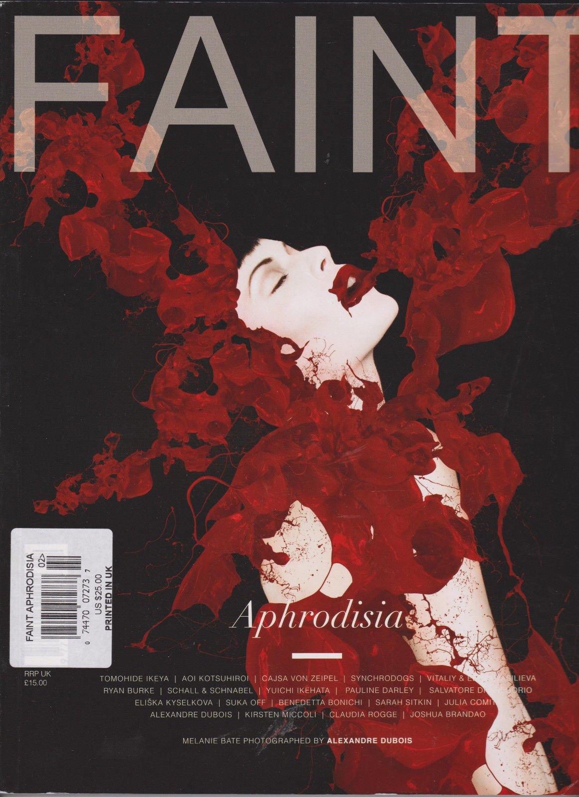 FAINT MAGAZINE UK ISSUE #2 2014, APHRODISIA.