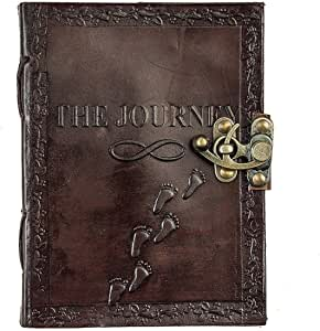 HANDMADE leather cover diary [L.5 H.7]
