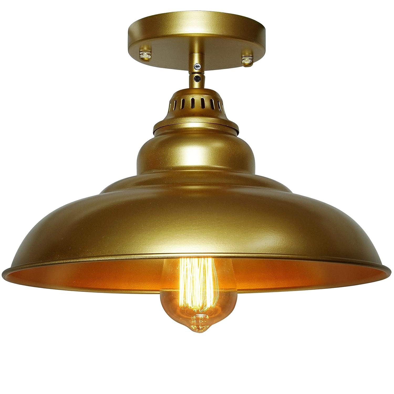 Barn pendant lights finxin 1 light hanging light for kitchen dining table fxpl03 gold 12 ceiling dome pendant lighting e26 base