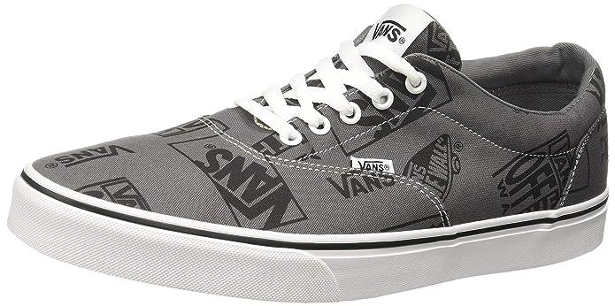 Vans Herren Doheny Big Logo Sneaker Grau Logo Mix