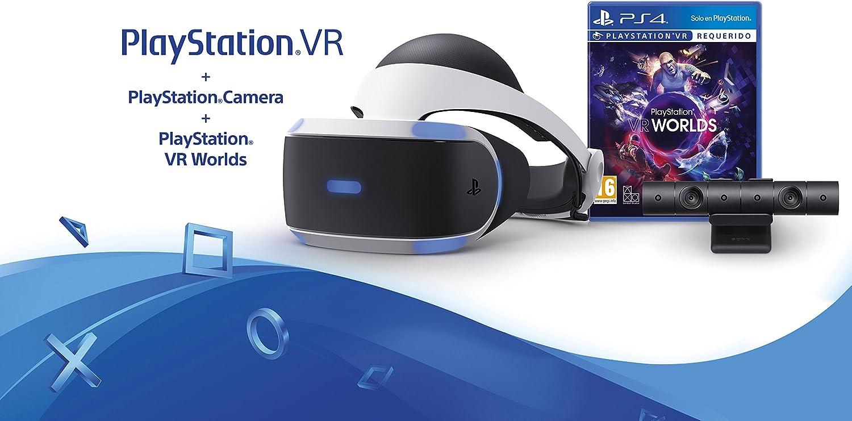 Sony - PlayStation VR + VR Worlds + Cámara (PS4): Amazon.es ...