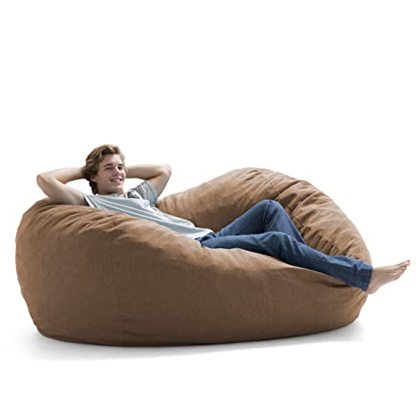 Fine Amazon Com Big Joe Fuf Foam Filled Bean Bag Extra Large Ibusinesslaw Wood Chair Design Ideas Ibusinesslaworg