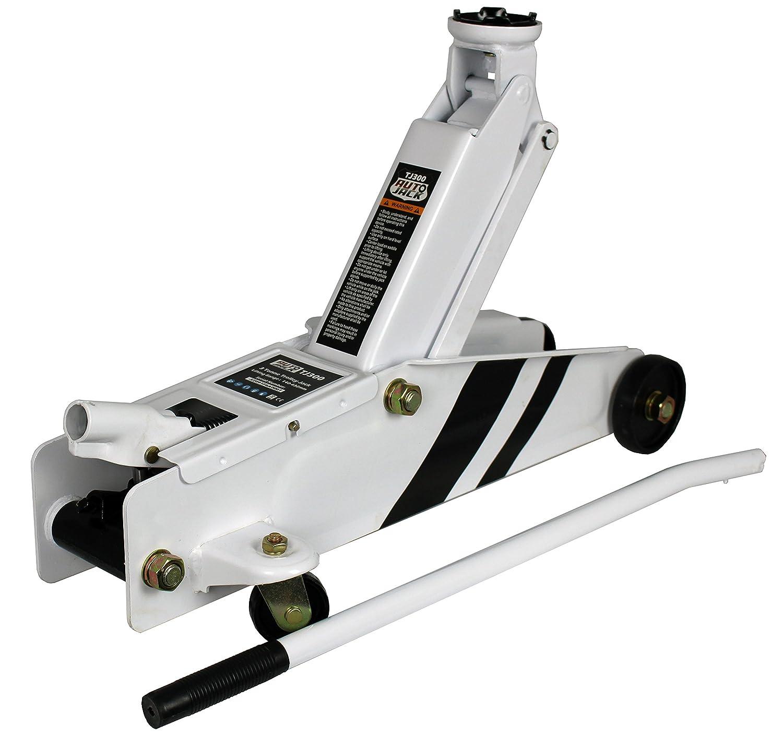 Martinetto idraulico con carrello per attività pesanti portata 3 tonnellate Autojack TJ300