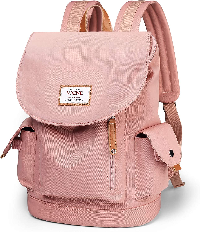 Travel Laptop Backpack, Anti Theft Bookbag for Women Men Teens Fit 15.6 Inch Laptop