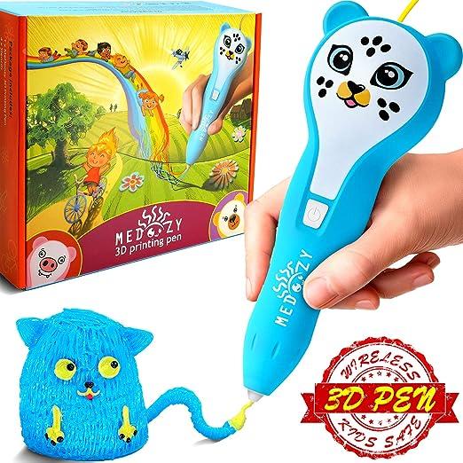 MeDoozy Pluma 3D - Regalos geniales para niños y niñas de ...
