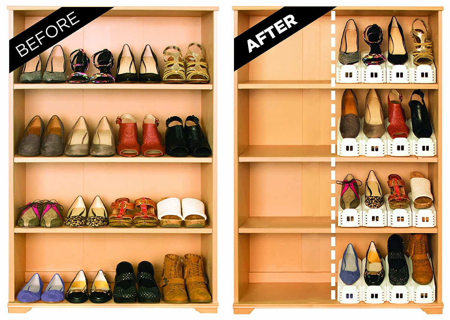 Shoe Storage Closet Solution
