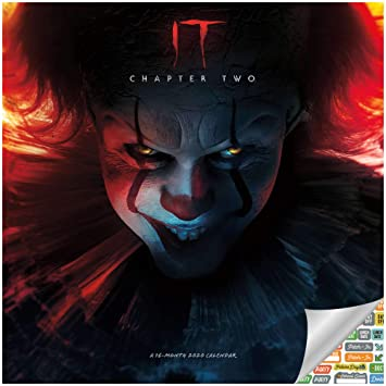 Amazon.com: Stephen King It Movie Chapter 2 Calendario 2020 ...