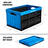 CleverMade 46L Collapsible Storage Bins - Durable
