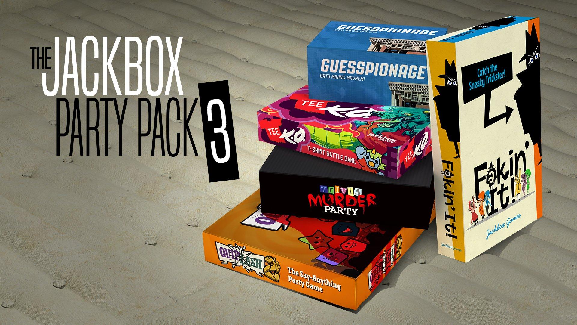 Amazon.com: The Jackbox Party Pack 3 - Nintendo Switch [Digital Code ...