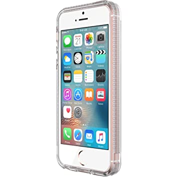 buy popular 254e3 a6d09 Tech21 T21-5280 Impact Clear Case for iPhone 5/5S/SE - Clear