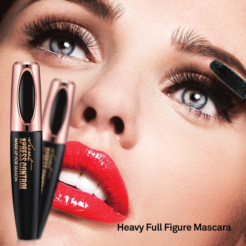 Amazon 4d Silk Fiber Lash Mascara Waterproof Luxuriously