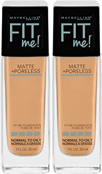 2-Ct. Maybelline New York Fit Me Matte + Foundation Makeup