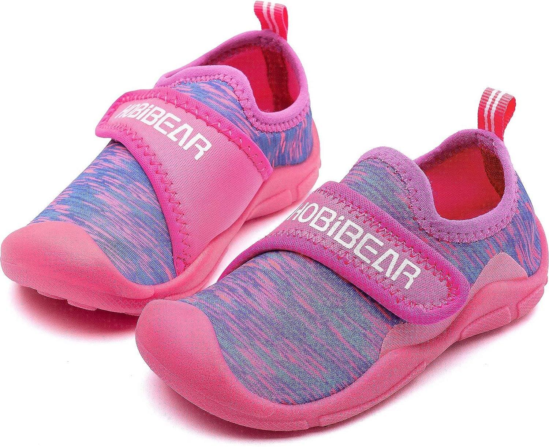 HOBIBEAR Boys Girls Water Shoes Quick