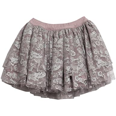 WHEAT Skirt Rapunzel, Jupe Fille, (Dusty Lilac 1239), 128 cm (Taille Fabricant: 8 Ans)