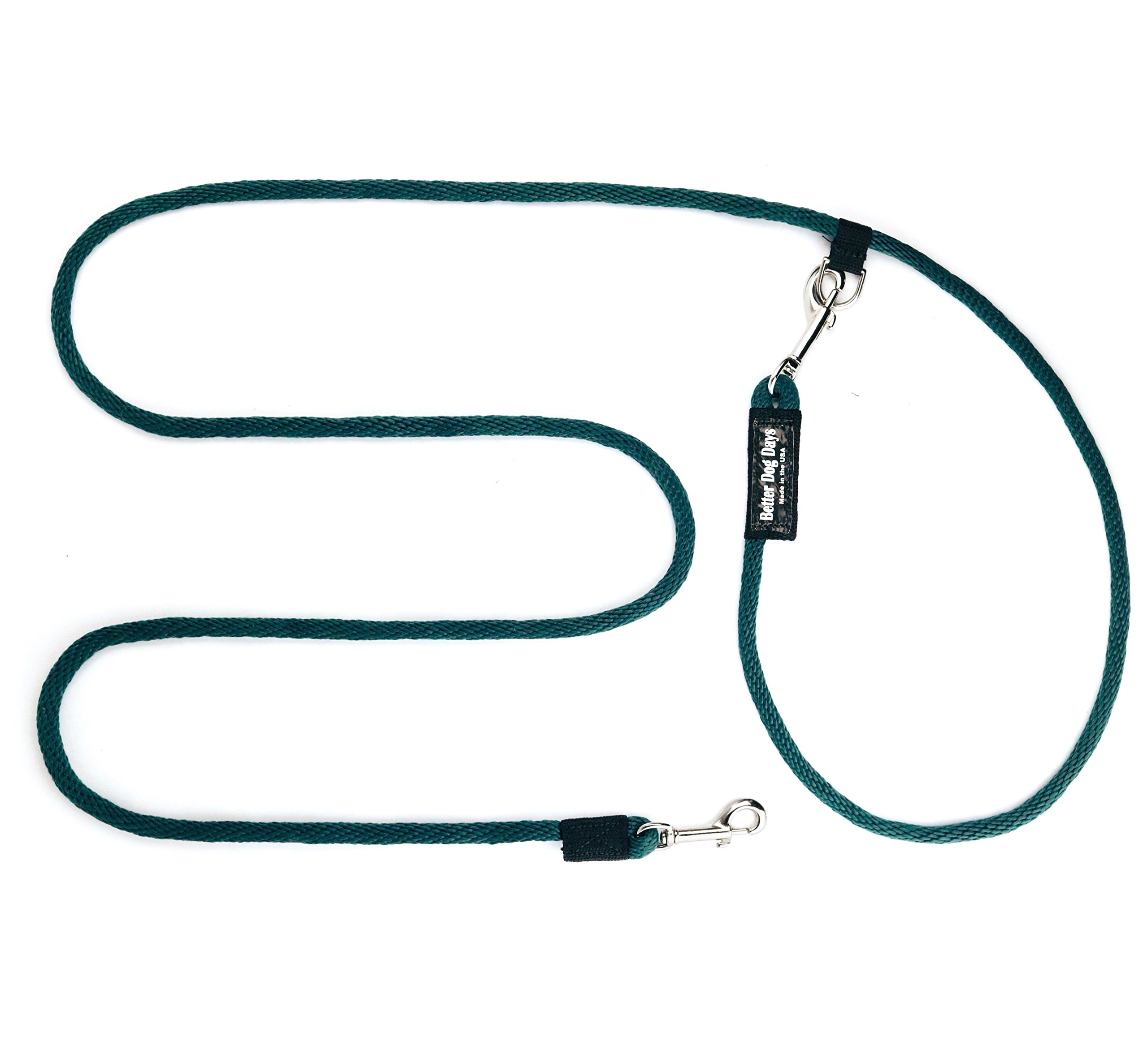 Best Hands Free Dog Leash for Walking, Running, Hiking, Backpacking with Your Dog, 8-Foot Long, Adjustable, Versatile, Durable, Comfortable for You and Your Dog, Around the Waist or Over the Shoulder by Better Dog Days