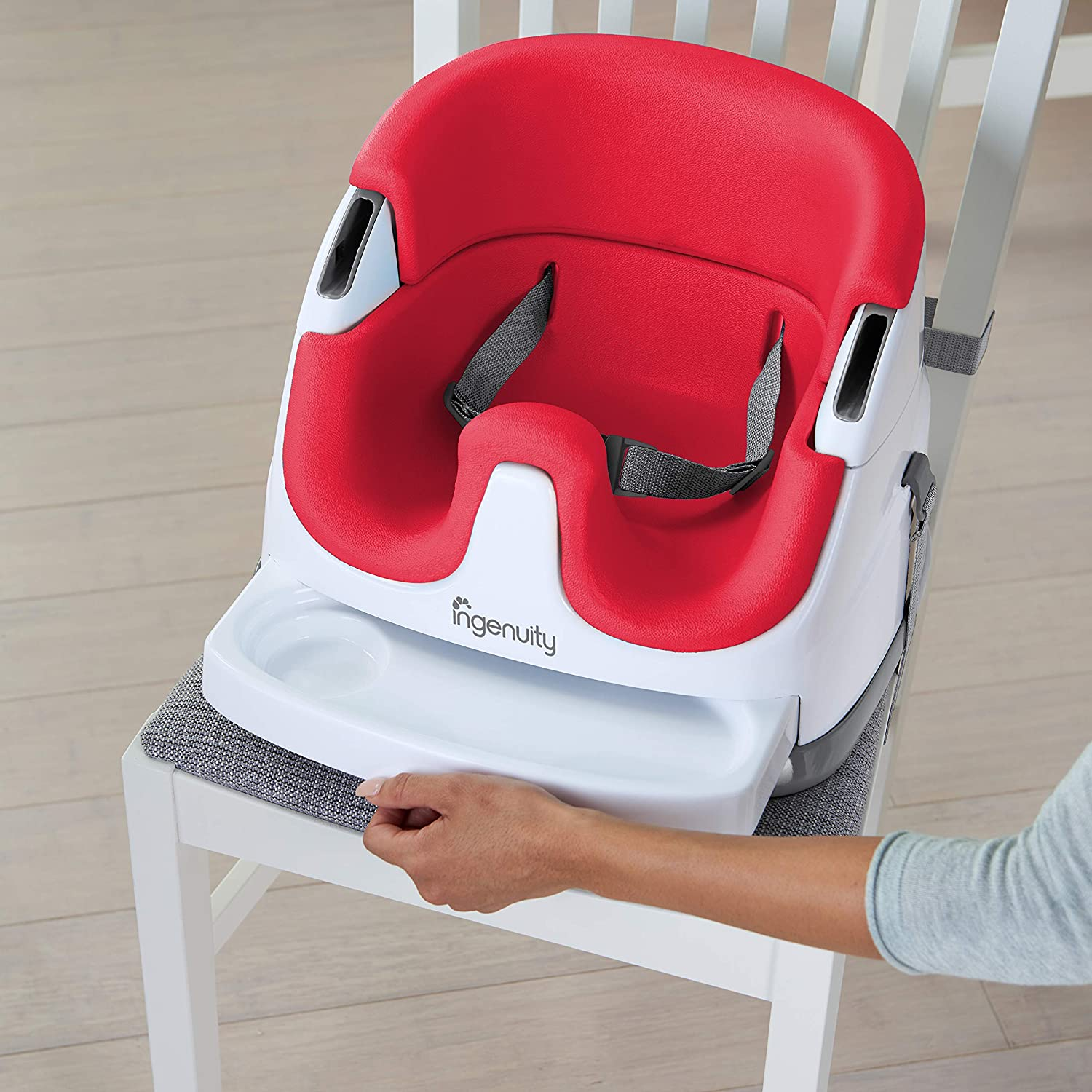 Booster Feeding Seat Cashmere Ingenuity Baby Base 2-in-1 Seat