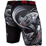Venum Men's Koi 2.0 Compression Shorts Black/White