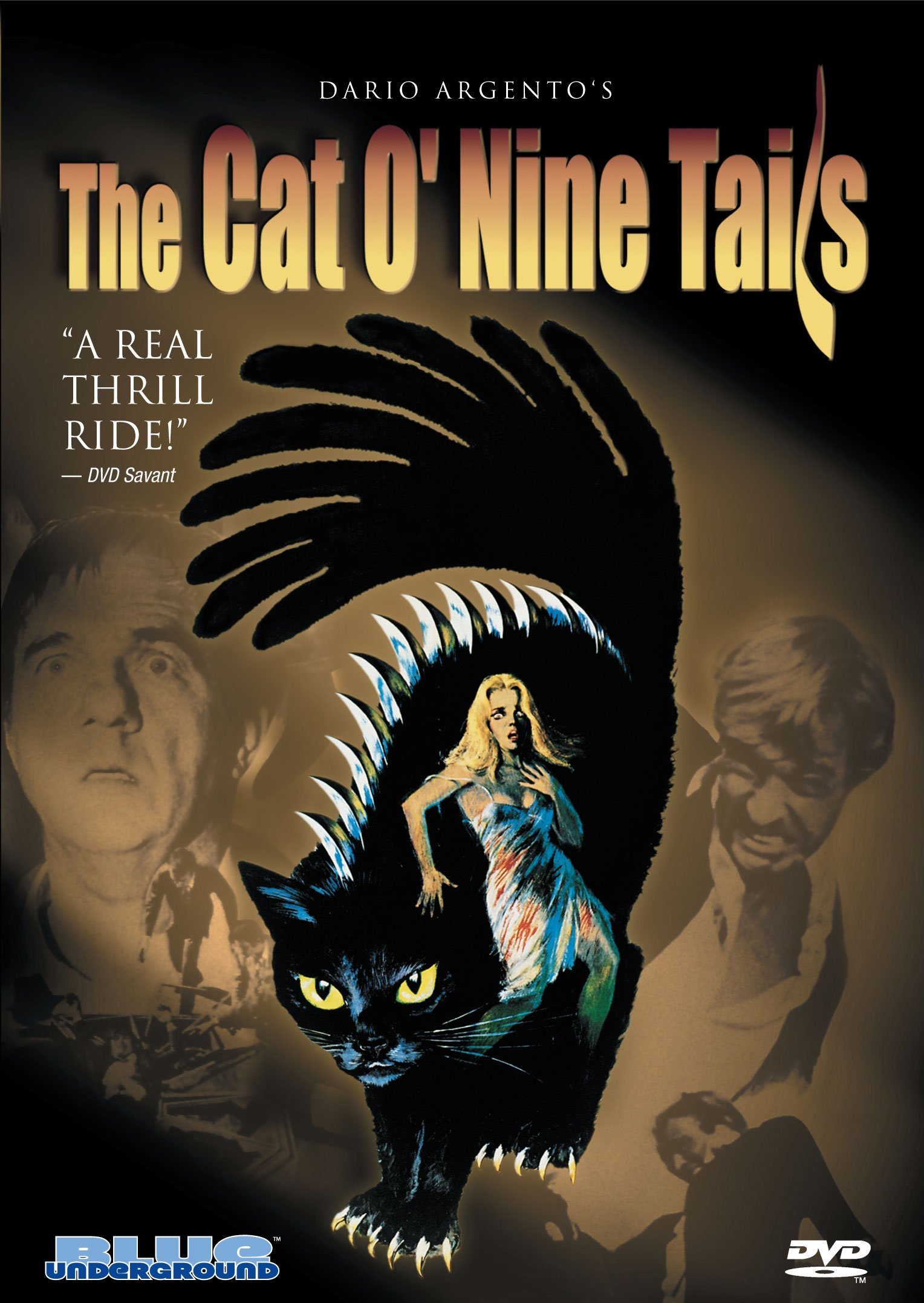 DVD : The Cat O' Nine Tails (Dolby, Widescreen)