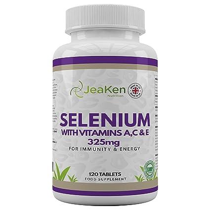SELENIO ACE por JeaKen - Selenio de alta calidad + vitaminas A, C, E