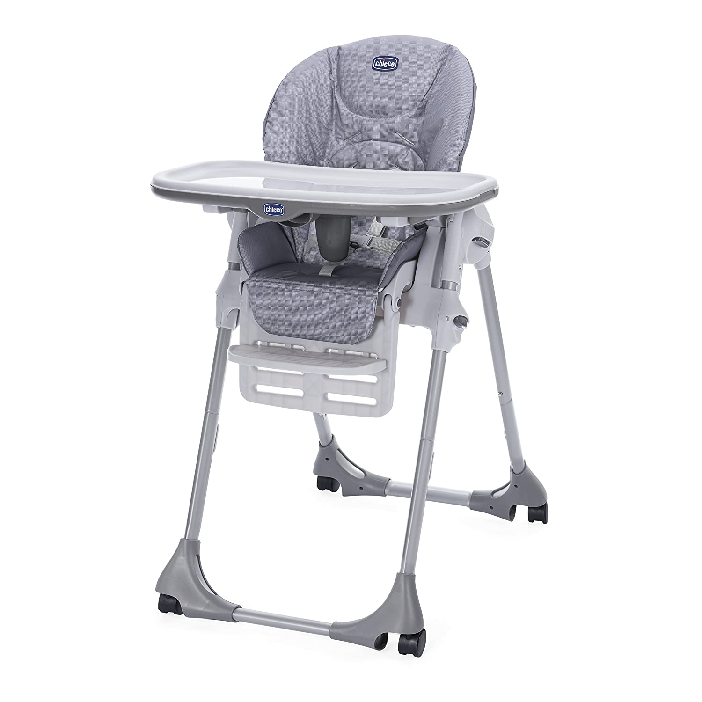 Chicco Polly Easy Highchair Nature - 4 Wheel ARTSANA UK LTD 04079565600930