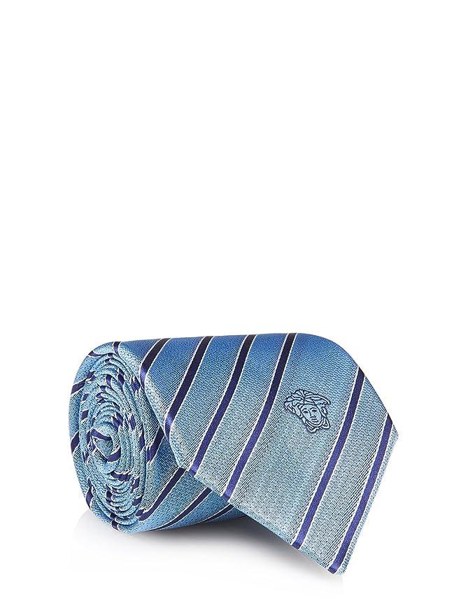 Versace Collection Corbata - para hombre Azul azul claro Talla ...