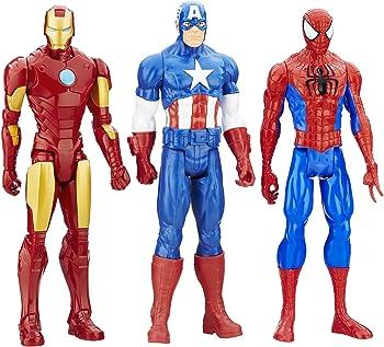3-Pk. Marvel Titan Hero Series