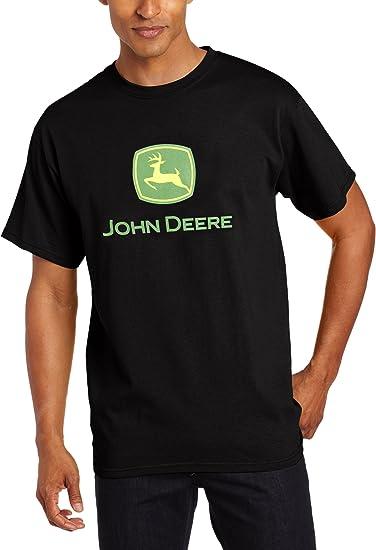 John Deere Mens Trademark Logo Core Short Sleeve Tee