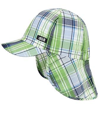 D/öll Baby-Jungen Baseballm/ütze mit Nackenschutz Kappe