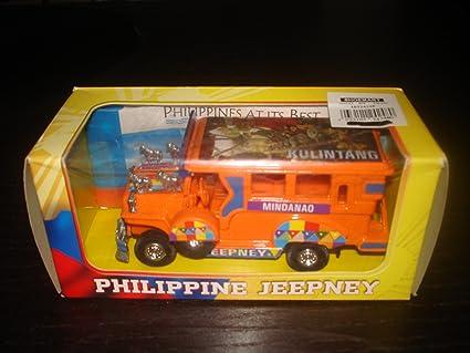 Amazon Com Philippine Jeepney Die Cast Metal Car Bus Toys Games
