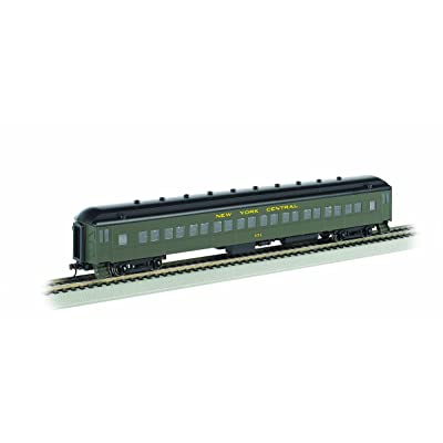 Bachmann Industries NYC #854 72' Heavyweight Coach with Lighted Interior: Toys & Games